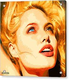 Angelina Acrylic Print by John Keaton