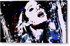 Angelina Jolie In The Moment Acrylic Print