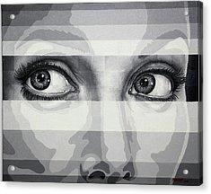 Angelina's Eyes Acrylic Print