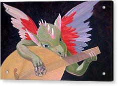 Angelo Musicante Acrylic Print