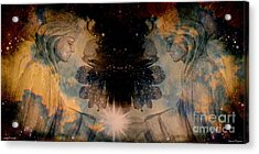 Angels Administering Spiritual Gifts Acrylic Print