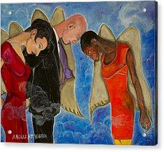 Angels At Work Acrylic Print