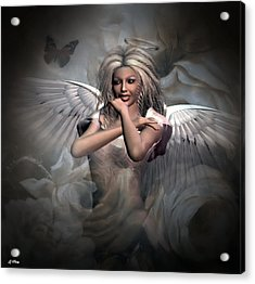 Angels Bliss Acrylic Print