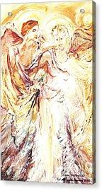 Angels Emerging Acrylic Print