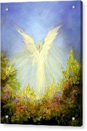 Angel's Garden Acrylic Print by Marina Petro