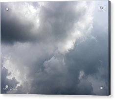 Acrylic Print featuring the photograph Angels In The Sky by Sandi OReilly