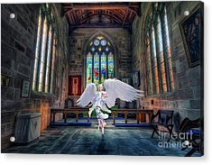 Angels Love And Guidance Acrylic Print