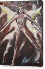 Angels Acrylic Print by Marat Essex