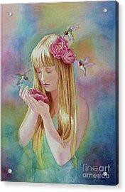 Angel's Nectar Acrylic Print
