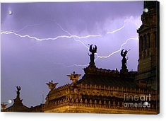 Angels Of Lightning Acrylic Print
