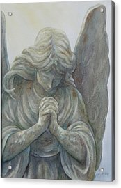 Angels On High Sold Prints Available Acrylic Print