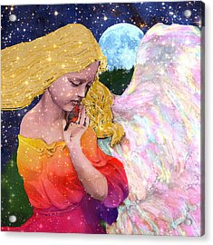 Angels Protect The Innocents Acrylic Print by Michele Avanti