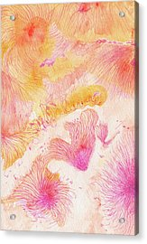 Angels Singing - #ss16dw046 Acrylic Print by Satomi Sugimoto