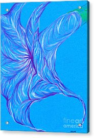 Acrylic Print featuring the photograph Angel's Trumpet by Kim Sy Ok