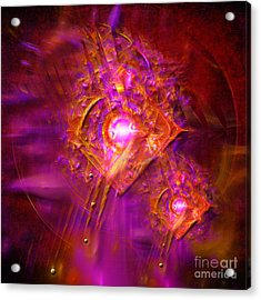 Angels Vibration Frequency  Acrylic Print