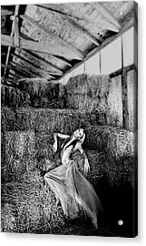 Acrylic Print featuring the photograph Angelus Domini by Maria Lankina