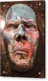Anger Acrylic Print by Donovan Hettich