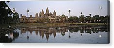Angkor Wat, A Buddhist Temple Acrylic Print by Justin Guariglia