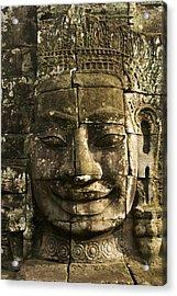 Angkor Wat Face Acrylic Print