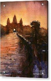 Angkor Wat Sunrise 2 Acrylic Print