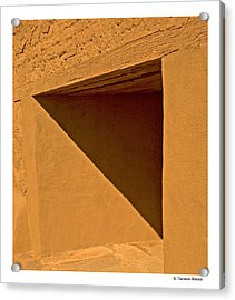 Acrylic Print featuring the photograph Angles by R Thomas Berner