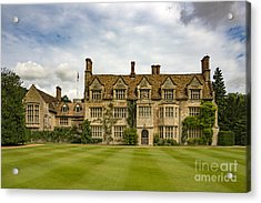 Anglesey Abbey Acrylic Print by Svetlana Sewell