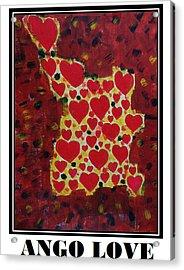 Ango Love Acrylic Print