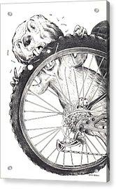 Angry Beaver  Acrylic Print