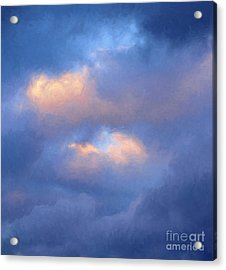 Angry Sky Over The Adirondacks Acrylic Print by George Robinson