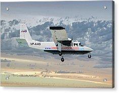 Anguilla Air Services Britten-norman Bn-2a-26 Islander 114 Acrylic Print