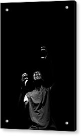 Acrylic Print featuring the photograph Anguish by Eric Christopher Jackson