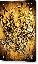 Animal Amulets Acrylic Print