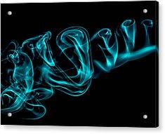 Artistic Smoke Illusion Acrylic Print