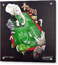 Animal Crappers... Acrylic Print
