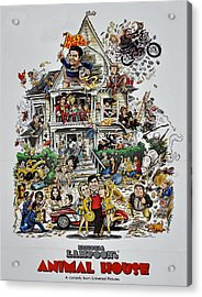 Animal House  Acrylic Print