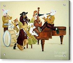 Animal Jazz Band Acrylic Print