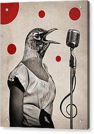 Animal16 Acrylic Print by Francois Brumas