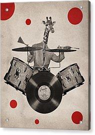 Animal19 Acrylic Print by Francois Brumas