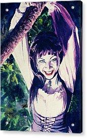 Anissa Acrylic Print by Ken Meyer