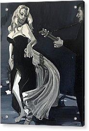 Anita Dancing Barefoot Acrylic Print