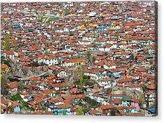 Ankara Acrylic Print by Kobby Dagan