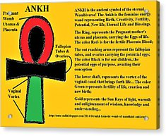 Ankh Meaning Acrylic Print