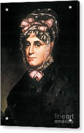 Anna Harrison, First Lady Acrylic Print by Science Source
