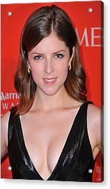 Anna Kendrick At Arrivals For Time 100 Acrylic Print