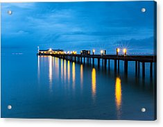 Acrylic Print featuring the photograph Anna Maria City Pier by Patrick Downey