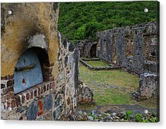 Acrylic Print featuring the photograph Annaberg Sugar Mill Ruins At U.s. Virgin Islands National Park by Jetson Nguyen
