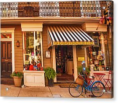 Annapolis Bookstore Acrylic Print