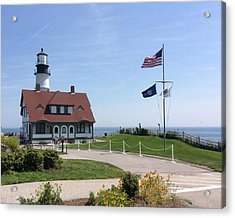 Portland Lighthouse ----- Edit Acrylic Print