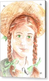 Anne Of Green Gables Acrylic Print