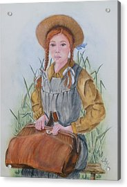 Anne Of Green Gables Acrylic Print by Kelly Mills